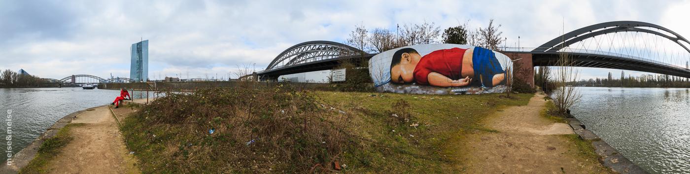 Osthafenmole, Graffiti Panorama